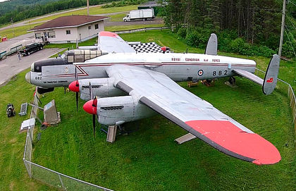 The Alberta Aviation hopes to restore this Lancaster that's now in New Brunswick.