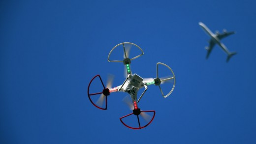 Near collisions with UAS are making the news.