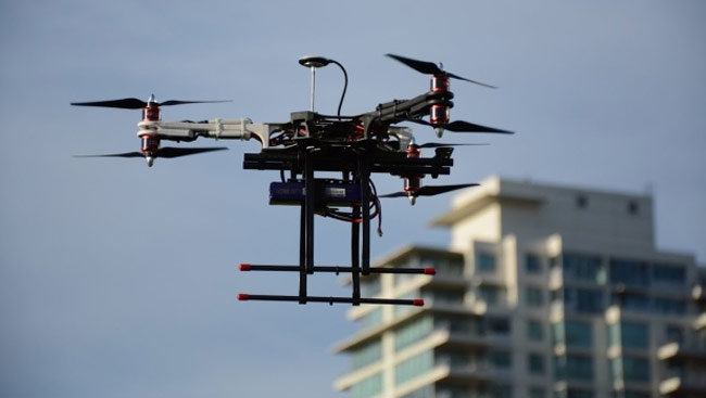 Officials are trying to prevent drone use near airports.