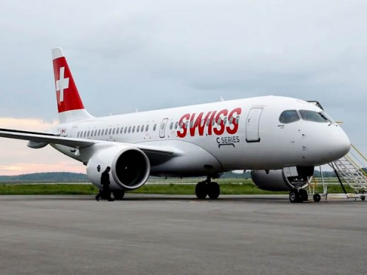 Swiss is the launch customer for the CSeries.