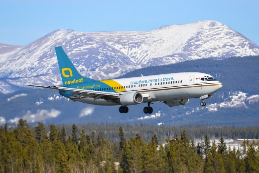 New Leaf Airlines will use Flair Airlines Boeing 737-400s.