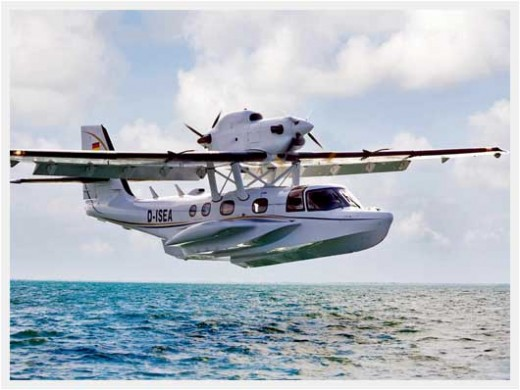 Diamond Aircraft is building the airframe for the Dornier Seastar.