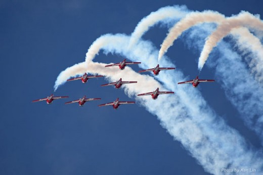 Snowbirds are confirmed for the London Air Show. Ken Lin photo