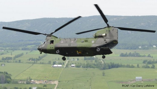 The first class of Canadian-trained Chinook pilots graduated this week.
