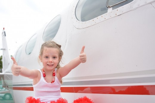 Girls of all ages are getting introduced to aviation this week.