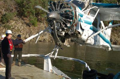 A Seair Beaver crashed near Saturna Island in 2009.