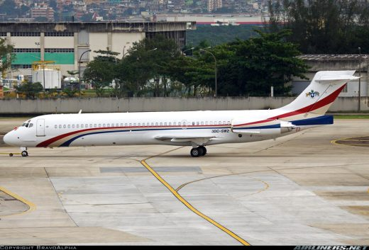 The King of Swaziland's DC-9 is being held somewhere in Ontario.
