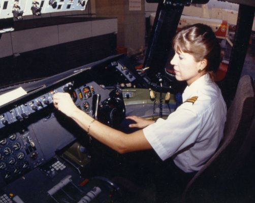 Judy Cameron was Canada's first female airline pilot.