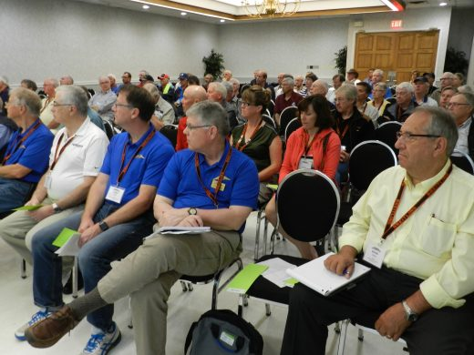 More than 150 people attended the COPA AGM.