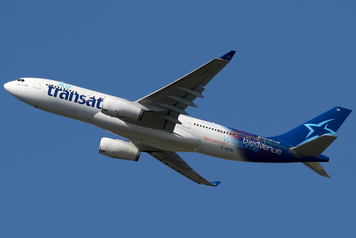 Two Air Transat pilots are under investigation in Scotland.