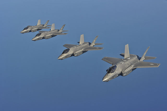USAF says the F-35 is ready to fight.
