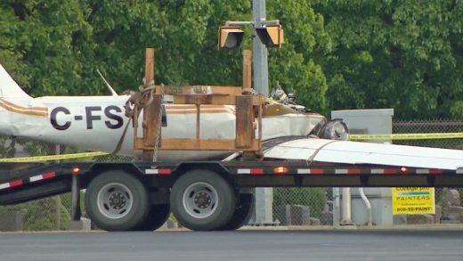 Peterborough plane crash victim had no training.