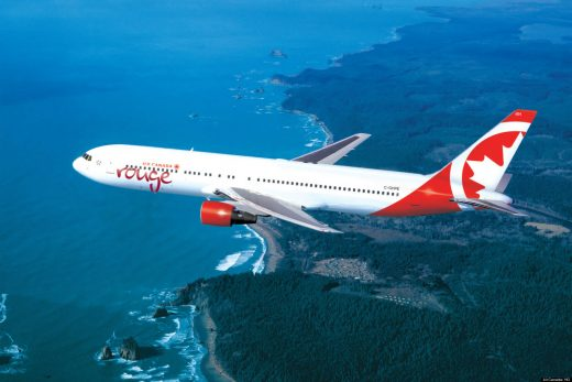 Rouge has expanded to a major airline.