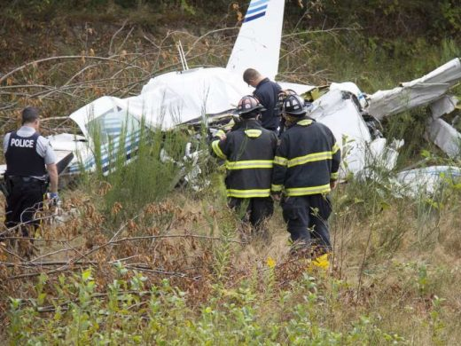 The pilot was killed in this Powell River crash.