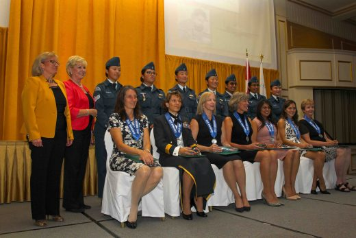 Seven women were honoured at the Northern Lights Awards.