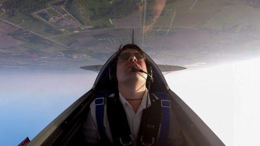 Luke Penner, of Manitoba, is a U.S. Aerobatics champion.