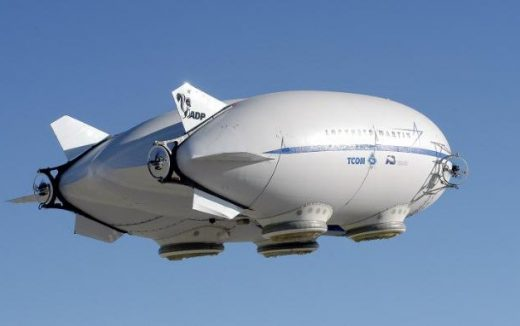 A Quebec mine is planning to use airships to shuttle ore to its refinery.