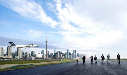 Runway 06-24 at Billy Bishop has been re-opened.