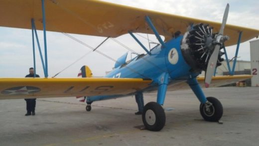 Canada Border Services Agency seized this Stearman in Sarnia.