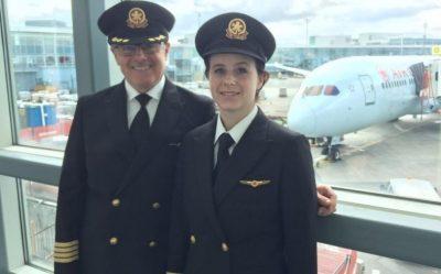 Father-Daughter Pilot Team