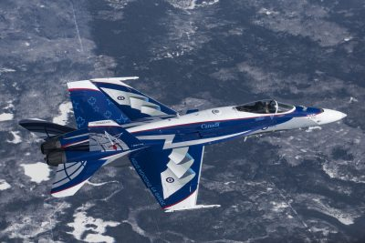 CF-18 Demo to U.K.