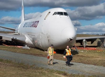 747 Cargo Plane Destroyed in Overun