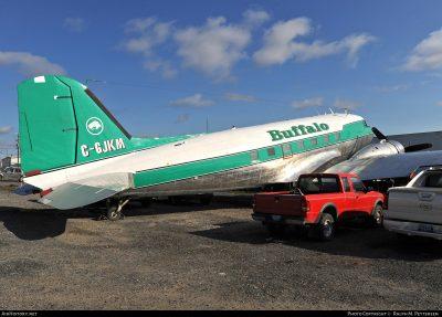 Crew Safe In DC-3 Off-Airport Landing