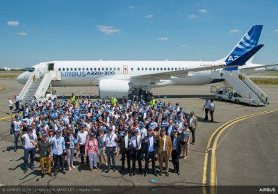 Airbus Celebrates A220 Success