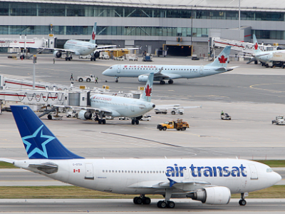 Company Tries To Block Air Transat Sale