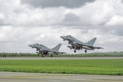 Airbus Withdraws Typhoon From Fighter Competition
