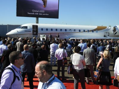 Bombardier Launches Global 6500 Into Service