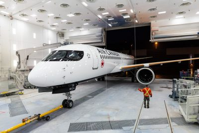 Air Canada Moves Up A220 Launch
