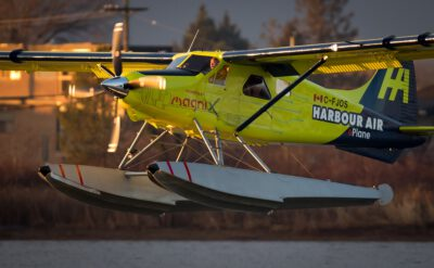 Harbour Air Moving Ahead With Electric Fleet