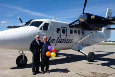 Long-Time Pilot Gets Order Of Newfoundland and Labrador