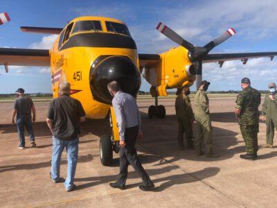 Buff Takes Transcontinental Final Flight