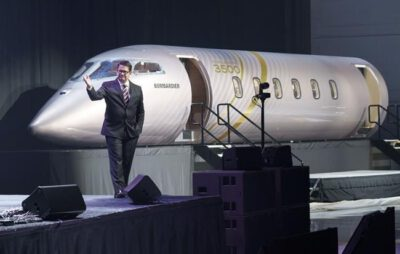 Bombardier Sells 20 Of Its New Jet